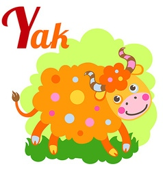 YakLetter vector image vector image