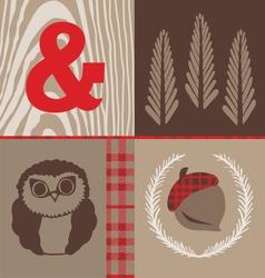 Woodsy Owl vector image