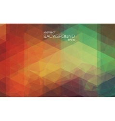 Angular abstract background with triangle shapes vector