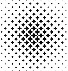 Black and white abstract polygon pattern vector