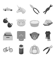 Taxi cleaning animals and other web icon in vector