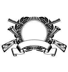 huntings frame vector image
