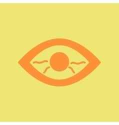 Eye problems vector