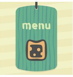 Cheese sandwich icon modern infographic logo vector