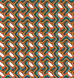 Background pattern colored waves vector