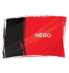 Grunge Paraiba flag vector image vector image