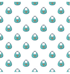 Kid bib pattern seamless vector