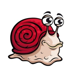 Slow snail vector