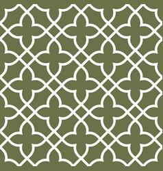 Figured seamless grating pattern - arabesque vector