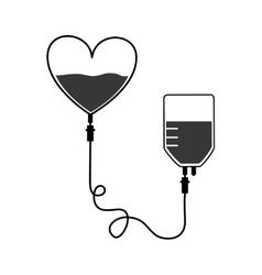 Blood bag donation vector