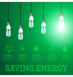 Saving energy 1 vector