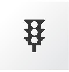 Traffic light icon symbol premium quality vector