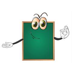 a green board vector image