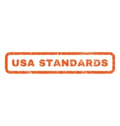Usa standards rubber stamp vector
