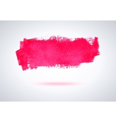 Grunge brush strokes vector image