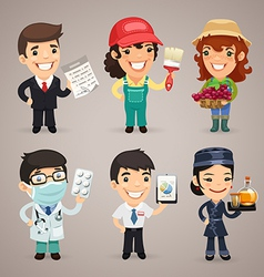 Professions set1 4 vector