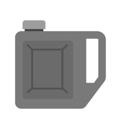 Petrol can vector