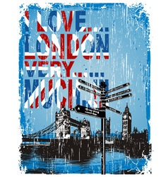 Love london vector