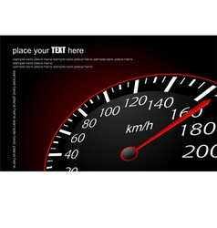 al 0633 speedometer 01 vector image