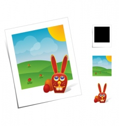 animal scenes vector image vector image
