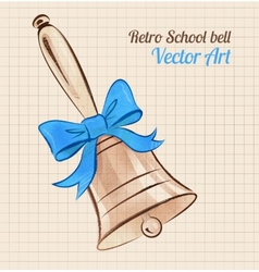 School bell vector