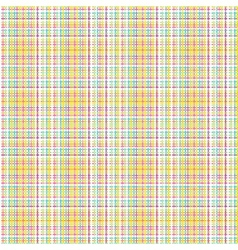 Seamless fabric pattern background vector image