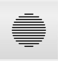 abstract audio speaker vector image