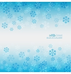 Gentle winter abstract background vector