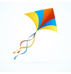 Colorful kite vector