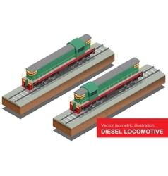 isometric of Diesel vector image vector image