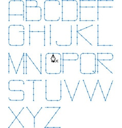 line font vector image vector image