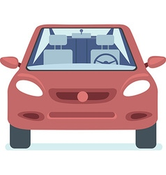 Red car vector