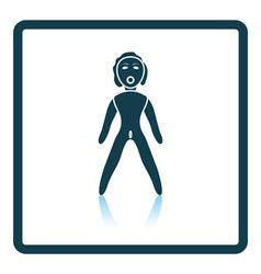 Sex dummy icon vector image vector image