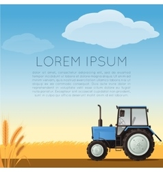 Agriculture banner vector