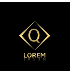 Q letter logo vector