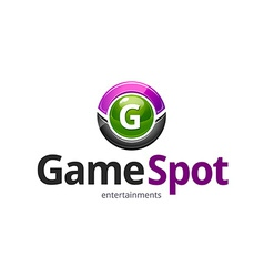 Game spot logo vector