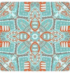 Vintage seamless doodle geometric vector
