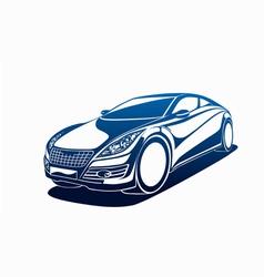 Big automobile vector
