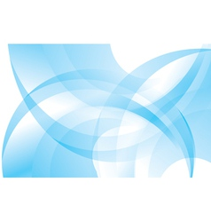 blue and white abstract background vector image vector image