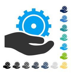 Development service icon vector