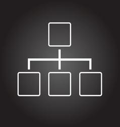 draw black vector image
