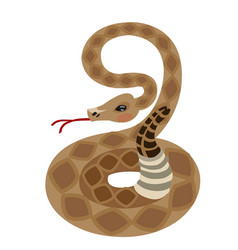 Rattlesnake for gaming applications design for vector