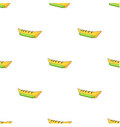 Water attraction bananasummer rest single icon in vector