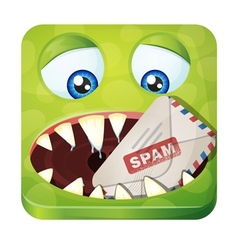 Spam eater vector