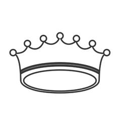 Crown royal king design vector