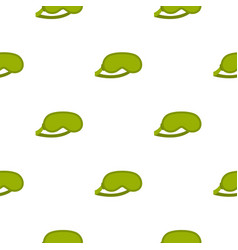 Green sleeping mask pattern seamless vector