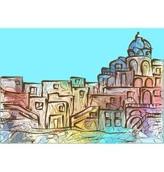 Naples vector image vector image