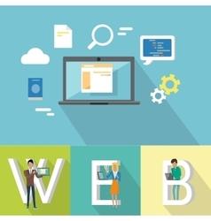 Web Design Banner vector image vector image