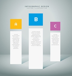 Infographic presentation template vector