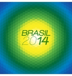 Brazil color background vector
